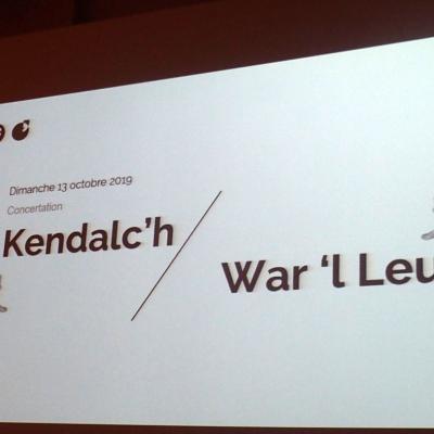 Réunion Kendalc'h-War 'l Leur 13/10/2019
