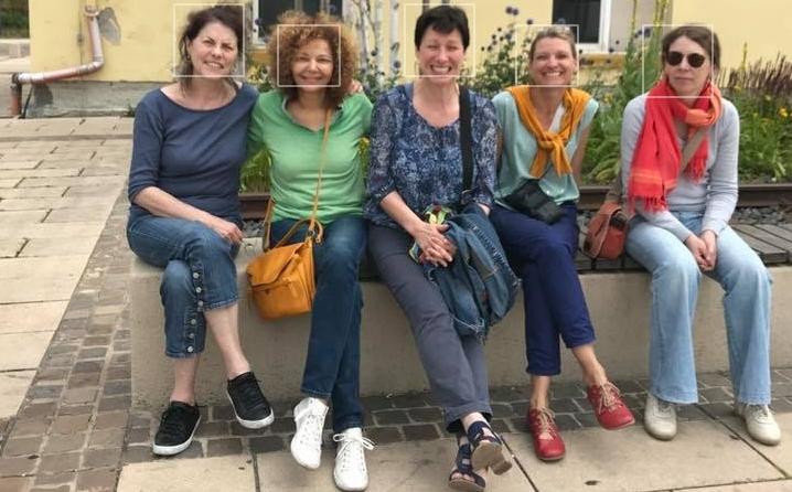 Danseuses des Danserien Pariz aux Europeades 2019