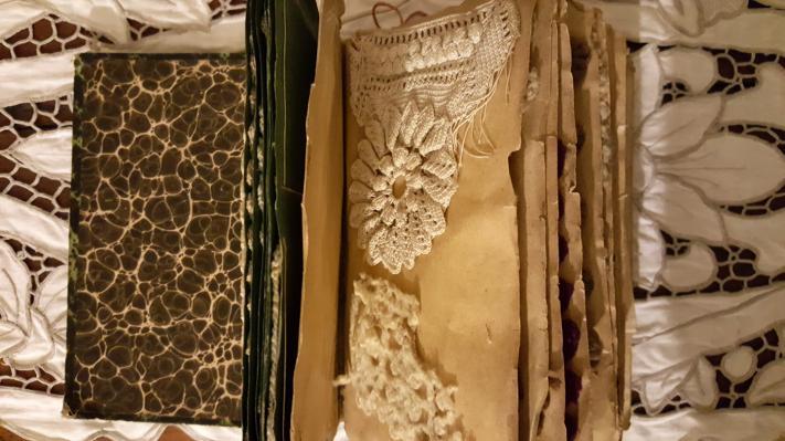 1 cahier de points de crochets de mary kieffer 1888