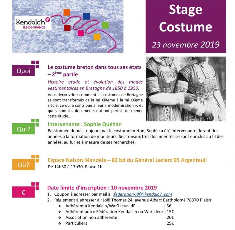 2019 fiche costume stage 23 novembre