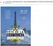 Fête de la Bretagne Paris Breton et Kendalc'h-idf