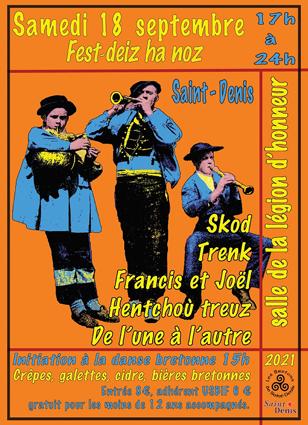 Fest deiz ha noz bretons de saint denis