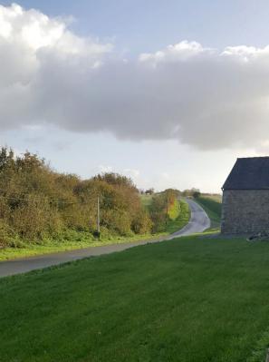 Route devant chez cathy 1